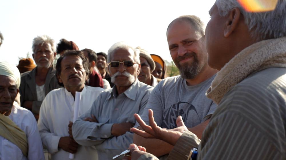 Aviram and Prahlad Tipanya in Luniyakhedi