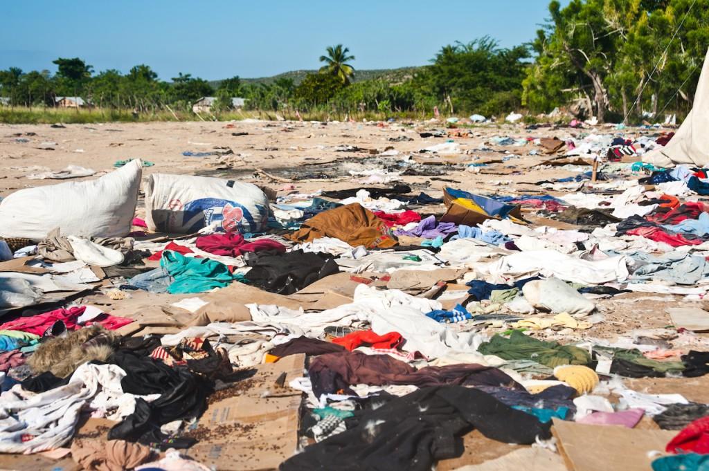 Clothing dump
