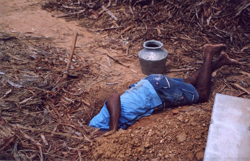 Digging May 2004