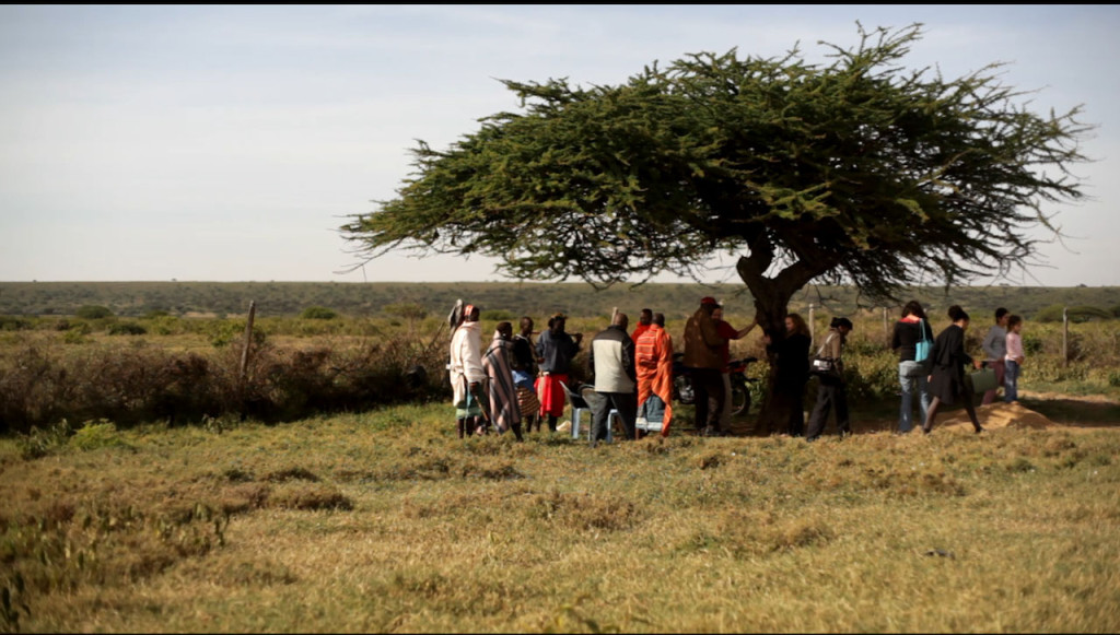Finalising the purchase of the land for Sadhana Forest Kenya