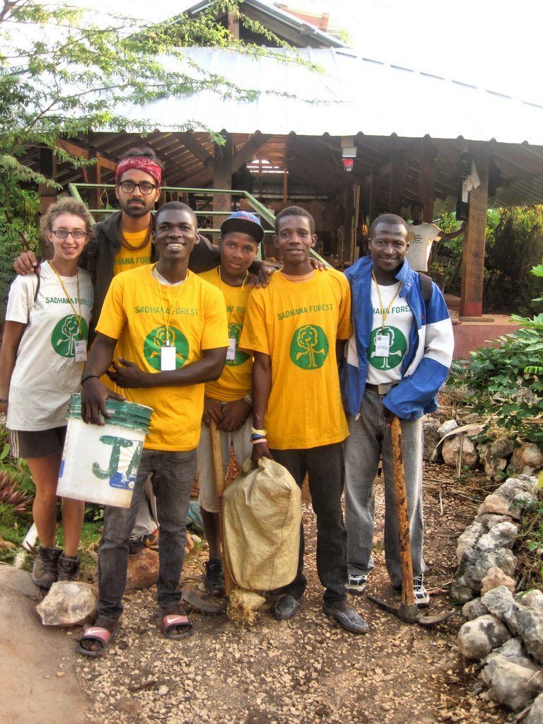 Haiti volunteers 2014