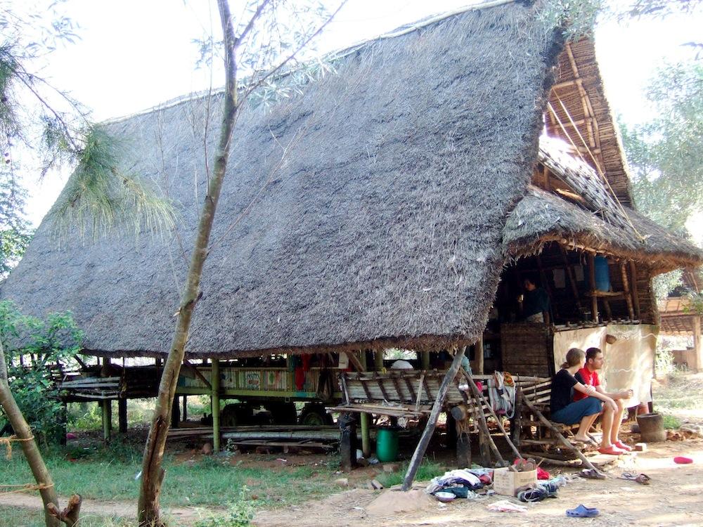 Main hut January 2008