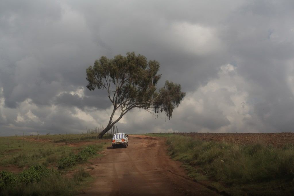 Roads in Samburu