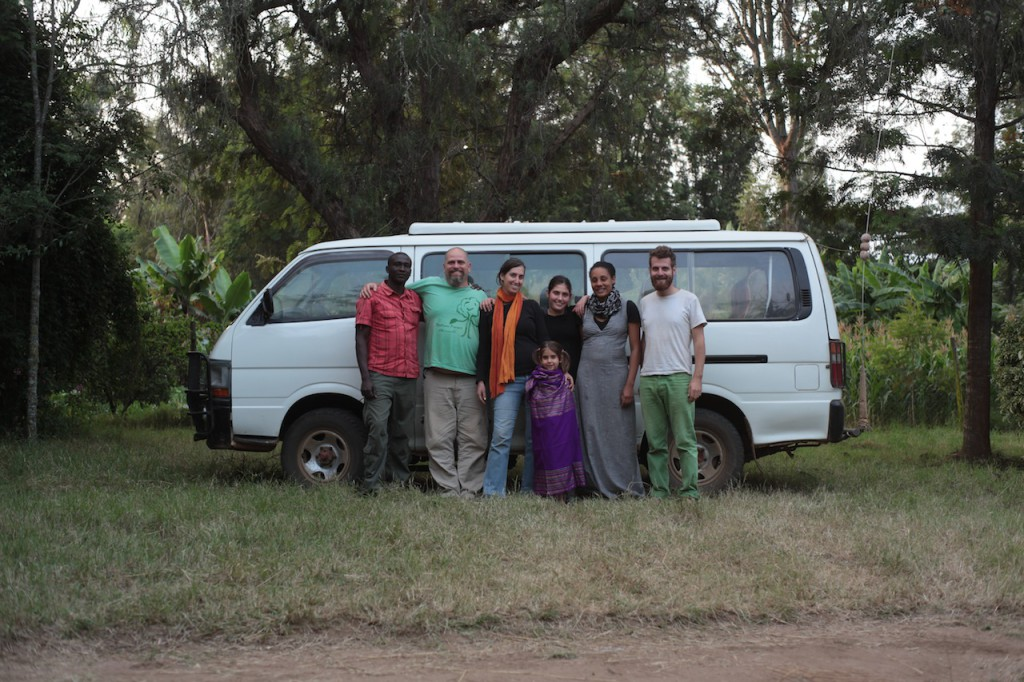 Sadhana Forest Kenya team