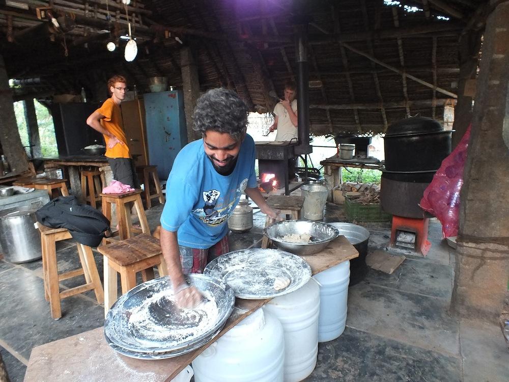 Shekhar cooking