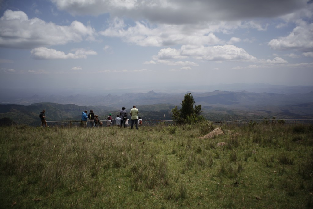 The Great Rift Valley view point - 2 hours from Sadhana Forest Kenya