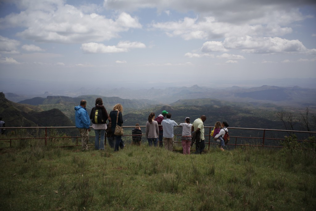 The Great Rift Valley view point - 2 hours from Sadhana Forest Kenya (2)