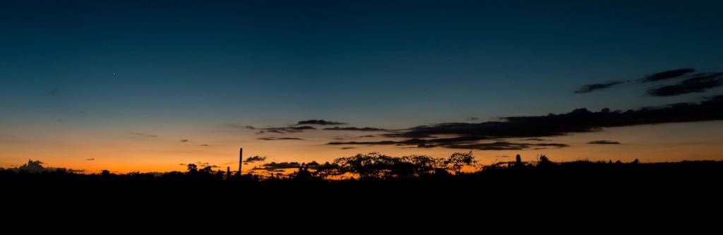 Panorama Sadhana Forest Haiti