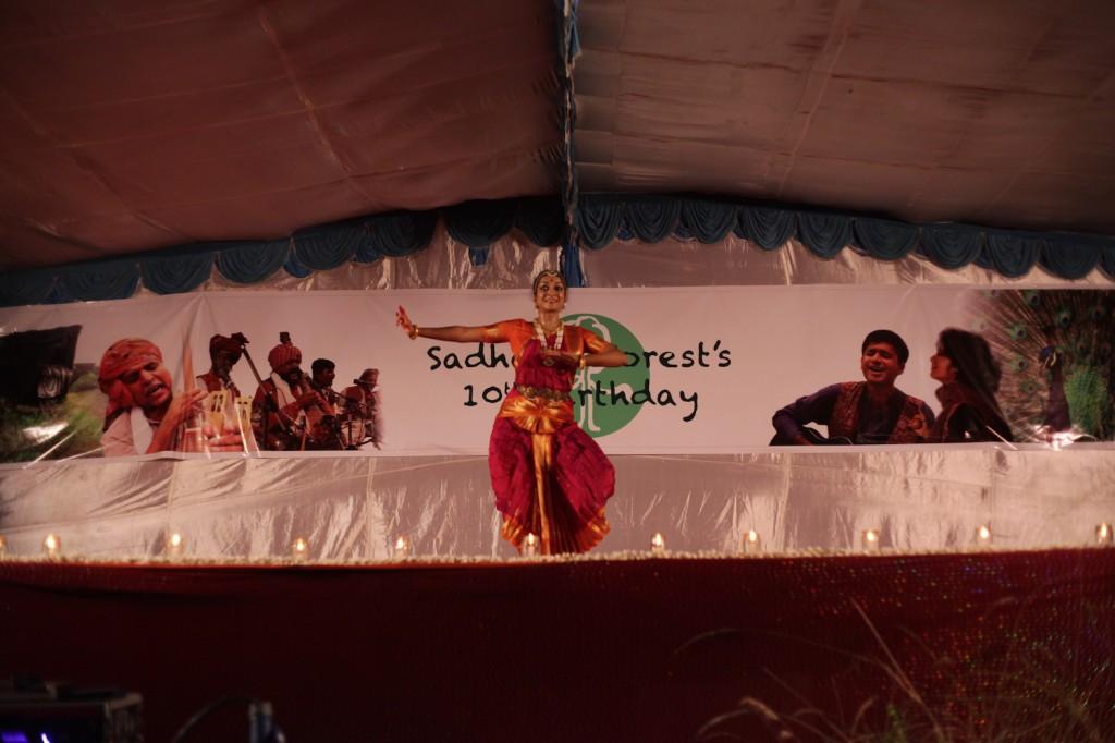 Ashwini dancing