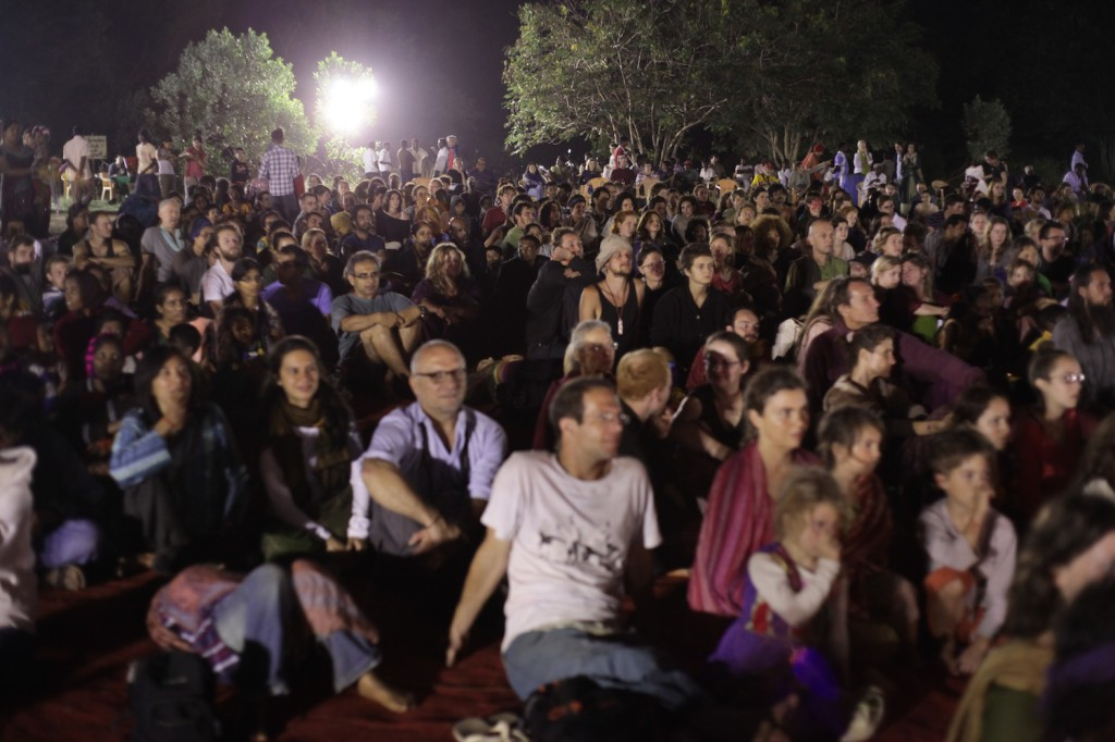 Audience in the festival
