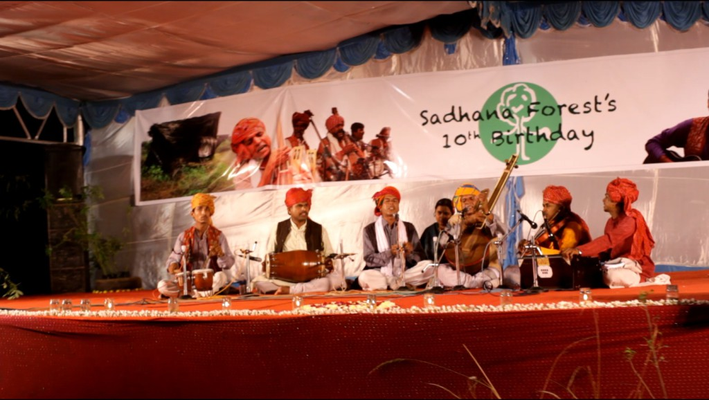 Prahlad and his band