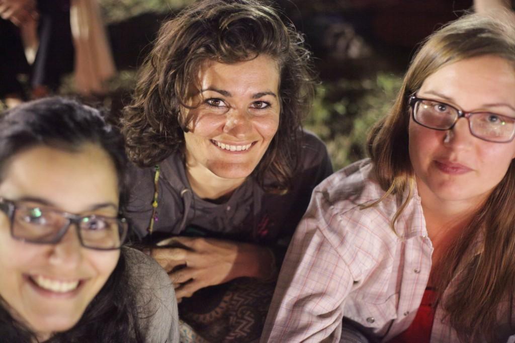 Saina, Christina and Sophia